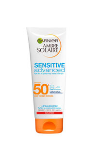 Garnier Ambre Solaire Sensitive Advanced Koruyucu Süt Tüp Gkf50+