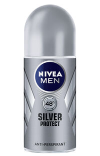 Nivea Roll On Silver Protect 50Ml Erkek