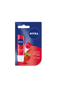 Nivea Lip-Dudak Çilek/Strawberry