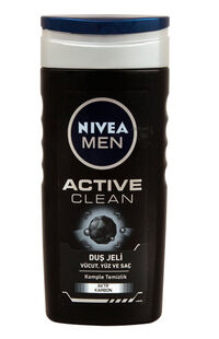 Nivea Duş Jeli 250 Ml Men Active Clean