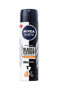 Nivea Deodorant Black&White Ultimate Impact Erkek 150 ml
