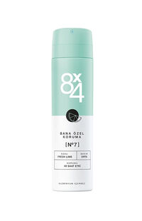 8x4 Deodorant Fresh Lime 150 ml No:7 Kadın