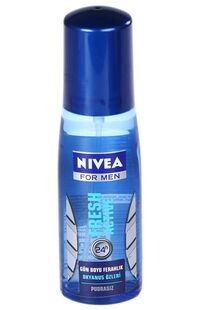 Nivea Pump Sprey Men 75 Ml Fresh Active