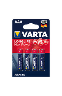 Varta Pil Max Power Aaa 4lü