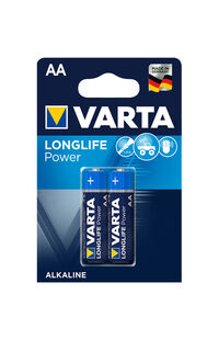 Varta Pil Longlife Power 2'Li AA