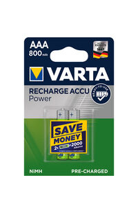 Varta Pil Rechargeable Power 2'li 800 MA 2'li