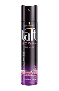 Taft Saç Spreyi 250 Ml No 5 Power Kaşmir Dokunuşu