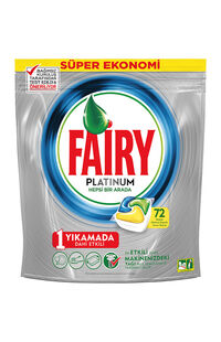 Fairy Platinum Tablet 72 Li Portakal