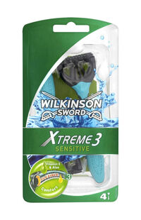 Wilkinson Xtreme3 Sensitive Kullan At Tıraş Bıçağı 4'lü