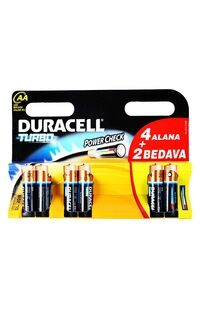 Duracell Turbo Aa 4+2 Pil