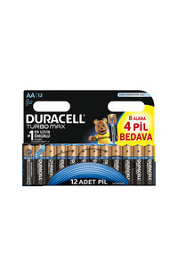 Duracell Turbomax 8+4 AA Pil