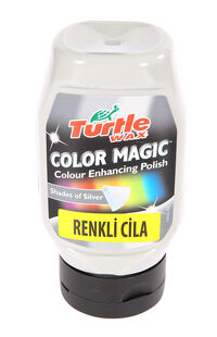 Turtle Wax Renkli Cila Gri 300Ml