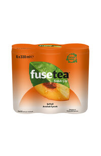 Fuse Tea 6X330Ml Şeftali