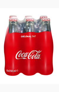 Coca Cola 250Ml X6 Owb Şişe