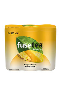 Fuse Tea 6X330Ml Mango Ananas