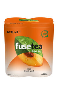 Fuse Tea 4 x 200 Ml Şeftali
