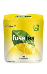 Fuse Tea 4 x 200 Ml Limon