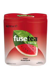 Fuse Tea 4 x 200 Ml Karpuz