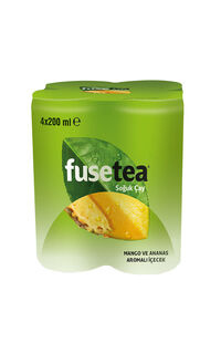 Fuse Tea 4 x 200 Ml Mango Ananas