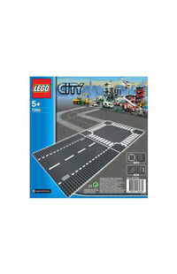 Lego City Staight And Crossroad LSC7280