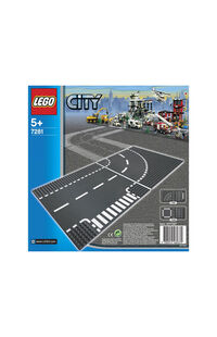 Lego City Junction Curves LSC7281