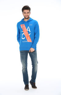 Jack&Jones 12093088 Imperial Blue Erkek Sweat