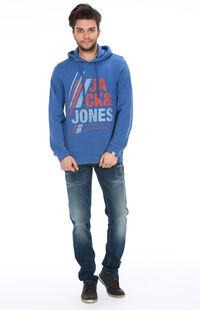 Jack&Jones 12097299 True Blue Erkek Sweat