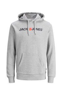 Jack Jones Erkek Sweatshirt 12137054 Light Grey Melange