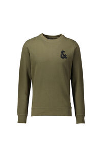 Jack Jones Erkek Sweatshirt 12155398 OLIVE NIGHT