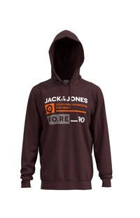 Jack Jones Erkek Sweatshirt 12162924 Fudge