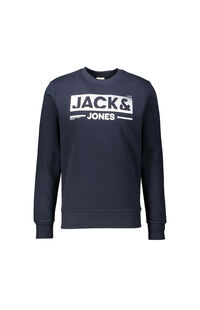Jack Jones Erkek Sweatshirt 12162927 SKY CAPTAIN