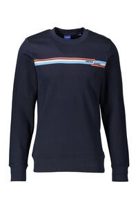 Jack Jones Erkek Sweatshirt 12158106 Navy Blazer