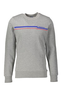 Jack Jones Erkek Sweatshirt 12158106 Light Grey Melange