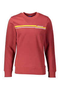 Jack Jones Erkek Sweatshirt 12158106 Brick Red