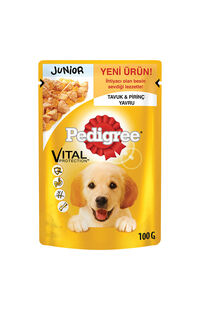Pedigree Pouch Köpek Maması Junior 100 Gr