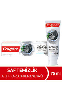 Colgate Diş Macunu 75Ml Natural Extracts Aktif Kömür
