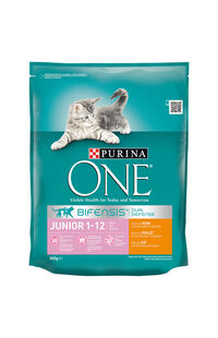 Purina One Junior Kedi Maması Tavuklu 800 Gr