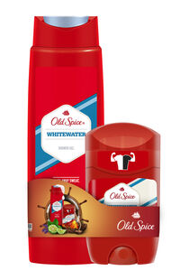 Old Spice Duş Jeli Whitewater 250 ml + Stick Whitewater 50 ml