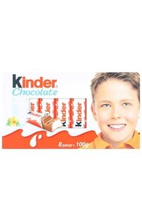 Kinder Chocolate 100Gr