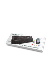 Everest Klavye + Mouse Set Oyuncu Km-1435 Q