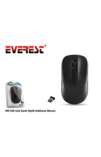 Mouse Everest Usb Kablosuz SM-526