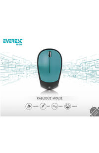 Mouse Everest Sm-340 3D Metalik