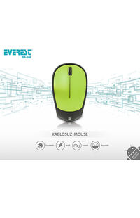 Mouse Everest Sm-340 3D Yeşil