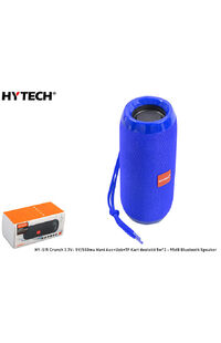 Hytech HY-S15 Crunch 3.7V- 5V/500ma Mavi Aux+Usb+TF Kart destekli 5w*2 - 95dB Bluetooth Speaker