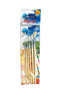 Fly Color Fırça Set 6' Lı Blisterli
