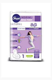 Sleepy Natural Ped Mega Normal 60 Adet