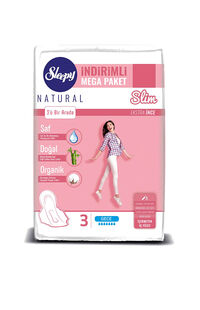 Sleepy Natural Ped Mega Slim Gece 40 Adet