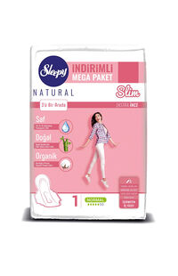 Sleepy Natural Ped Mega Slim Normal 60 LI