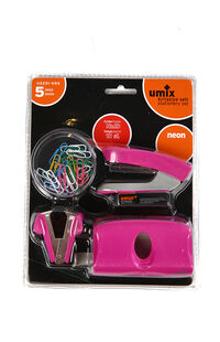 Fortuna Umix 5'li Set No 10 Neon Renk