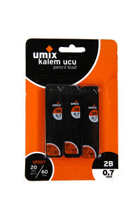 Umix Versatil Uç 0.7 mm 2B 3'lü